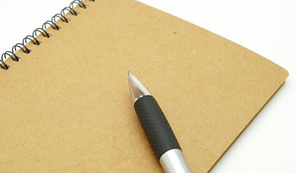 ノート・筆記用具:新潟ビジネス出張必須アイテム