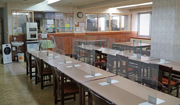 食堂:新潟の格安ウィークリー・マンスリーマンション:パンション駅南