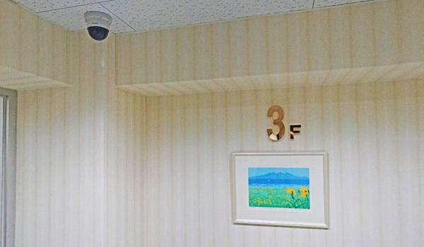 女性専用フロアー:新潟の格安ウィークリー・マンスリーマンション:パンション駅南