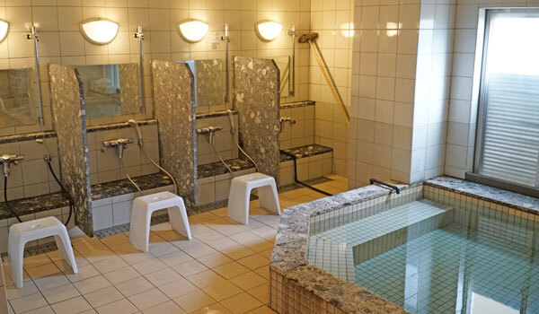 大浴場:新潟県新潟市パンション駅南