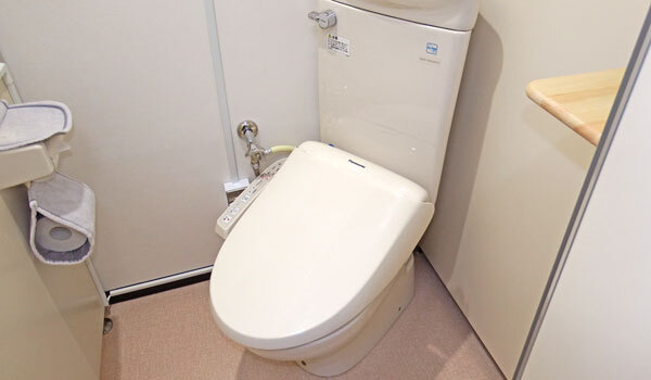 パンション駅南トイレ:新潟の格安ウィークリー・マンスリーマンション